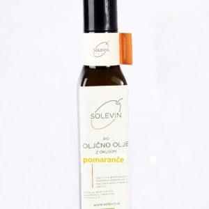 Bio oljčno olje s pomarančo Solevin