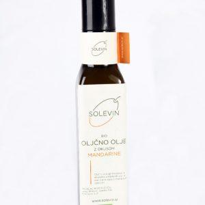 Bio oljčno olje z mandarino Solevin