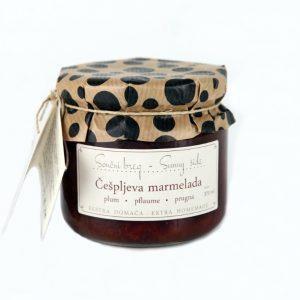 Slivova (češpljeva)  marmelada Sončni Breg